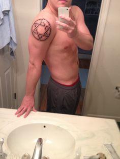 My Star of David tattoo