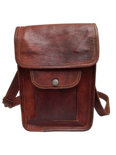 dcaacbe251 9 Mens Vintage Small Leather Messenger Shoulder Satchel Bag for Tablet  510 Vintage  Leather