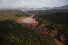 Photos of the Red Sludge That Smothered a Town in Brazil - The Atlantic