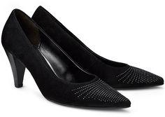 Glamour Pumps von Gabor in schwarz für Damen. Gr. 36 2 3,37 1 3,38 2 3,39 1 3,42
