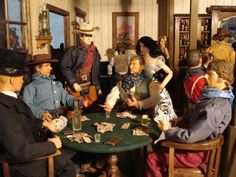 See related links to what you are looking for. Barbie Doll House, Barbie I, Barbie World, Western Saloon, Western Theme, Barbies Pics, Best Scale, Barbie Diorama, Doll Display