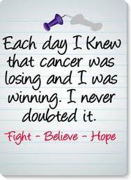 Kicking Cancers Ass!