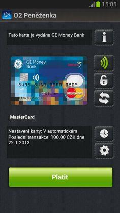 Telefonica NFC Wallet, Czech Republic