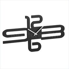 Astaire Black Wall Clock