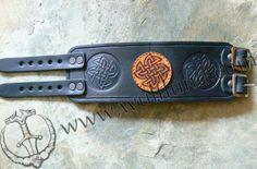 ROCK FASHION LEATHER BRACELET, black