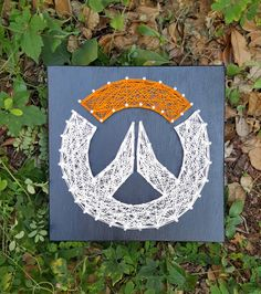 Overwatch string art by Stressed Out Studios Hey, I found this really awesome Etsy listing at https://www.etsy.com/listing/515218853/overwatch-string-art-made-to-order-home