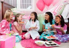 girls birthday party ideas sleepover