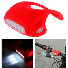 7 LED Bicycle Bike Silicone Caution Safety Rear Light FREE SHIPPING. Price: US$6.53