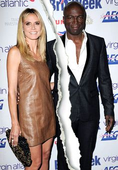 Heidi Klum and Seal #breakup