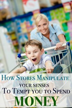 How Stores Manipulate your Senses to get you to spend money - this is a MUST read if you are trying to save more!