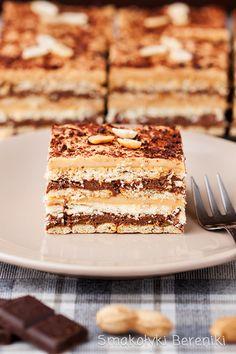 Polish Recipes, Polish Food, Cake Recipes, Dessert Recipes, Food Cakes, Sweet Desserts, Tiramisu, Cheesecake, Sweets