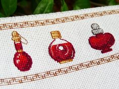 World of Warcraft potion cross stitch pattern!
