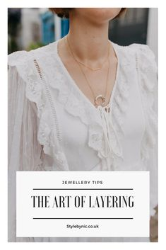 Click the link to read more on this post! Style by Nic, jewellery, stylist, personal stylist, styling jewellery, delicate jewellery, layered necklaces, necklaces, gold, silver, gold jewellery.