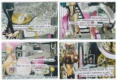 Visitenkarten Collagen, Business Cards, Collages
