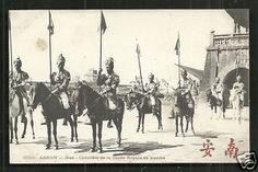Hue-Cavalry-Royal-Guard-Annam-Indo-Chine-Vietnam-ca-1910