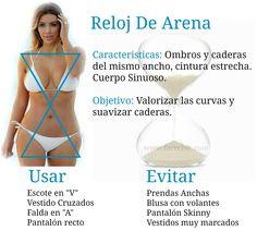Silueta Reloj de Arena Visite: farechic.com