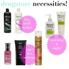 jillgg's good life (for less)   a style blog: drugstore beauty!