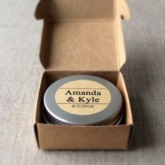 A set of 12 adorable mini tins of face and body butters perfect as favors for any event. The wording of your choice is printed and the image is handstamped with black archival ink. These butters are great for rough hands, feet, dry spots and fine lines.  Disclosure: This is an affiliate link, and if you click the link and make a purchase I'll receive a commission. This does not increase the cost to you.