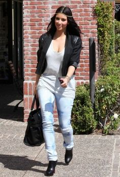 Kim Kardashian Fashion and Style - Kim Kardashian Dress, Clothes, Hairstyle - Page 134