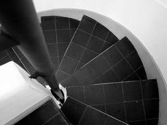 The World's Best Photos by Archigeek Le Corbusier, Villa Savoye, Oise, World Best Photos, Stairs, Architecture, Poissy France, Interiors, Google Search