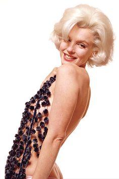 Marilyn Monroe photographed by Bert Stern 1962