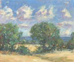 How to Paint Summer Landscapes in Oil with Christine Pybus