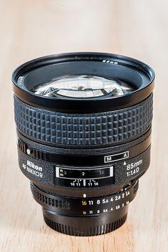 Nikkor 85mm f/1.4D | by stephanrudolph