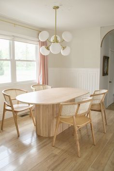 Diy Dining Table, Dining Area, Do It Yourself Quotes, Diy Esstisch, Diy Furniture, Modern Furniture, Kitchen Design, Sweet Home, New Homes