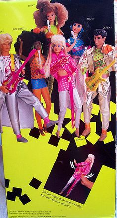 BARBIE ROCKERS.  My favorite of all the Barbie themes