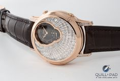 """Welcome to the inaugural Quill & Pad Baselworld """"awards,"""" in which we highlight a few of the watches and goings-on that caught our eyes at the world's largest watch exhibition. Here's what caught our eyes at Baselworld 2014 in no particular order. Patent Pending, Baguette Diamond, Quilling, Bracelet Watch, Chain Links, Barrel, Sapphire, Diamonds, Collections"""