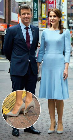 Crown Prince Frederik and Crown Princess Mary of Denmark Princess Marie Of Denmark, Royal Princess, Crown Princess Mary, Prince And Princess, Princesa Real, Denmark Fashion, Estilo Real, Princess Pictures, Danish Royal Family