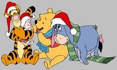 Winnie the Pooh and Friends Christmas Clipart - Disney Clipart Galore