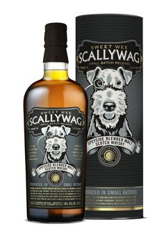 Scallywag award winning Scotch Whiskey #packaging PD
