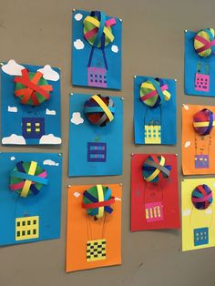 Knutselen groep 5 luchtballon Knutselen groep 5 luchtballon The post Knutselen groep 5 luchtballon appeared first on Knutselen ideeën. Line Art Lesson, Diy Crafts For Kids, Arts And Crafts, Kindergarten Art Lessons, Classroom Art Projects, Paper Mache Crafts, Elements Of Art, Elementary Art, Balloons
