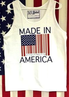 You were Made in America, and that is a Privilege. When wearing this Tank Top you can walk into any store, ask the cashier to scan the barcode on the tank, and watch the cash register read 'Free.' Wea
