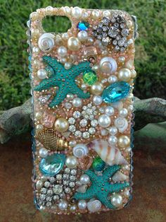 iPhone 5 Stunning Beach Case from Kianas Kases. Saved to Kianas Kases on Etsy. Bling Phone Cases, Ipod Cases, Diy Phone Case, Cute Phone Cases, Iphone Phone Cases, Phone Covers, Iphone 7, Coque Iphone 5s, Decoden Phone Case