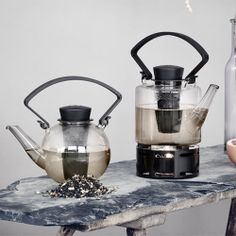 The Kitchen Gift Co - Glass Teapot with Infuser - Round Clear Teapot, £19.95 (http://www.thekitchengiftco.com/glass-teapot-with-infuser-round-clear-teapot/)