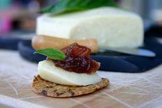 Gourmet Dairy Free Cheese w/cashews, nutritional yeast, kombucha tea, lemon, herbs