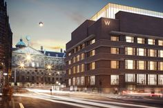 The newly opened W Amsterdam sets the canal district on fire