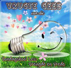 Sondagskool Les: 4. Vrugte van die Gees - Vreugde en Vrede Youth Ministry, Teaching Kids, Van, Christian, Posts, Blog, Messages, Vans, Blogging