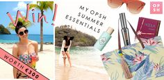If you've been following my travel blog, you'll know that I bought some of my favourite bits for the Caribbean from Opsh.com, a new Irish site that makes it very easy to shop your favourite high street brands all at once. I bought both looks below from Opsh. I love shopping online, and I have… High Street Brands, Holiday Essentials, Caribbean, Beach Mat, Competition, Irish, Workout, My Favorite Things, Easy