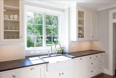 kitchen sink Kitchen Sink.  Darker marble for counters and then white marble on island?
