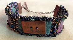 Tired Hedonist, bracelet on the Mirrix Loom