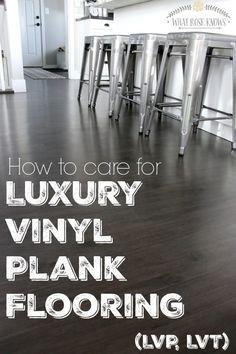 How To Care For Luxury Vinyl Plank Flooring (LVP, LVT)