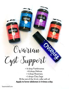 Young Living 33847434687008389 - Essential oil roller blend for ovarian cysts. Young Living Source by Karamickell Essential Oils For Cysts, Essential Oil Uses, Melrose Essential Oil, Young Living Oils, Young Living Essential Oils, Young Living Cramps, Young Living Detox, Essential Oil Diffuser Blends, Diffuser Recipes