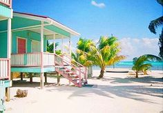 Caye Caulker, Belize » One of the best places I have ever been! There's even A little pink Kingdom Hall!