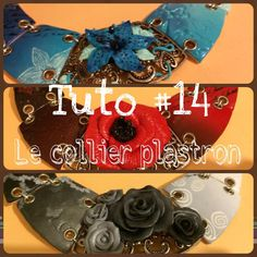 tuto #14 : le collier plastron