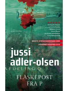 An absolutely amazing book by Jussi Adler-Olsen!