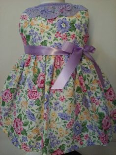 American Girl Doll Clothes-Handmade  Roses and by Dollclothes4K