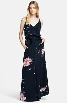 Jay Godfrey Print Satin Maxi Dress on shopstyle.com